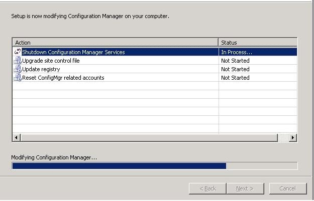 Configuration Manager doesn't locate the Database after upgrading the SQL 2005 to SQL 2008