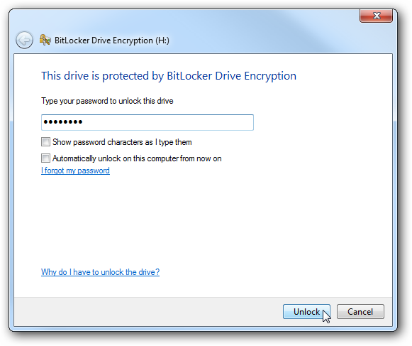 BitLocker in Windows 7