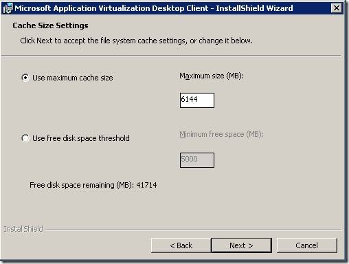 clip image00214 thumb Installation of Microsoft Application Virtualization(4.6) Desktop Client