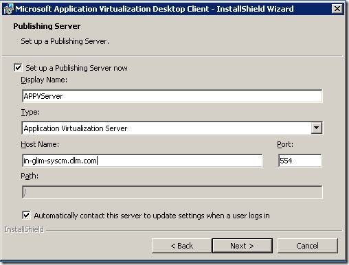 clip image00218 thumb Installation of Microsoft Application Virtualization(4.6) Desktop Client