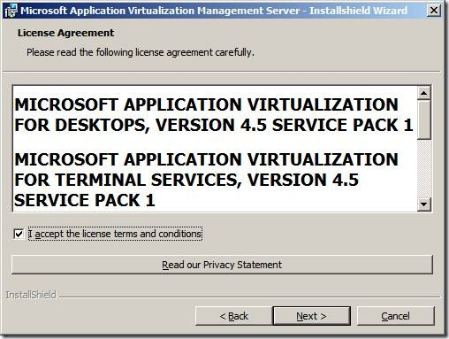 clip image004 thumb Installation of App V 4.6 Management Server in Windows Server 2008