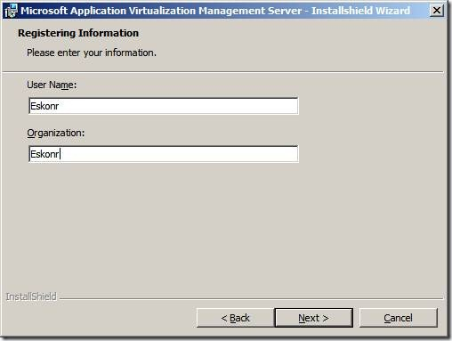 clip image006 thumb Installation of App V 4.6 Management Server in Windows Server 2008