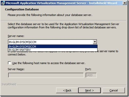 clip image012 thumb Installation of App V 4.6 Management Server in Windows Server 2008