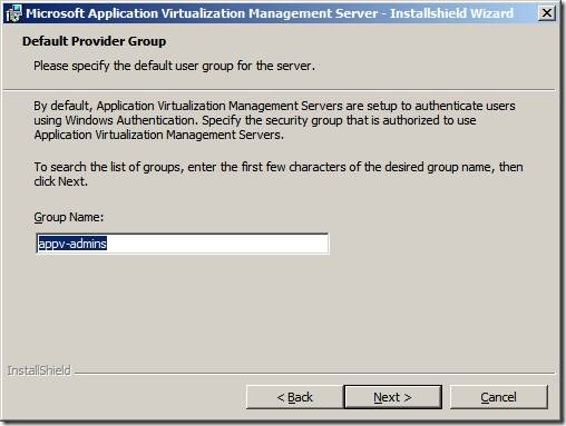 clip image022 thumb Installation of App V 4.6 Management Server in Windows Server 2008