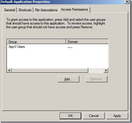 image thumb1 Installation of Microsoft Application Virtualization(4.6) Desktop Client