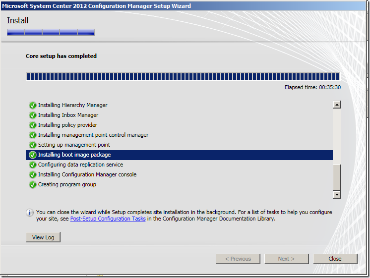 image thumb24 Installation of ConfigMgr(SCCM) 2012 RC2