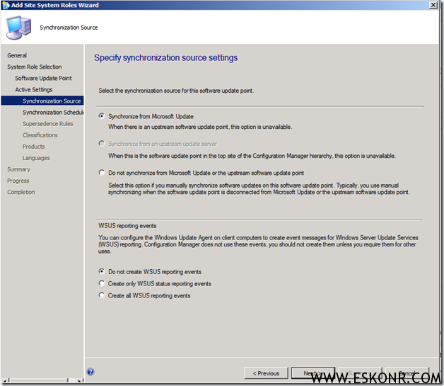 image thumb10 Installation of Software Update Role in SCCM 2012