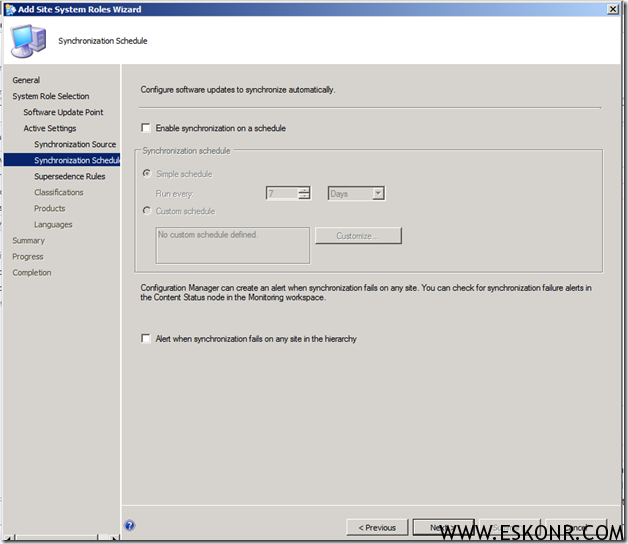 image thumb11 Installation of Software Update Role in SCCM 2012