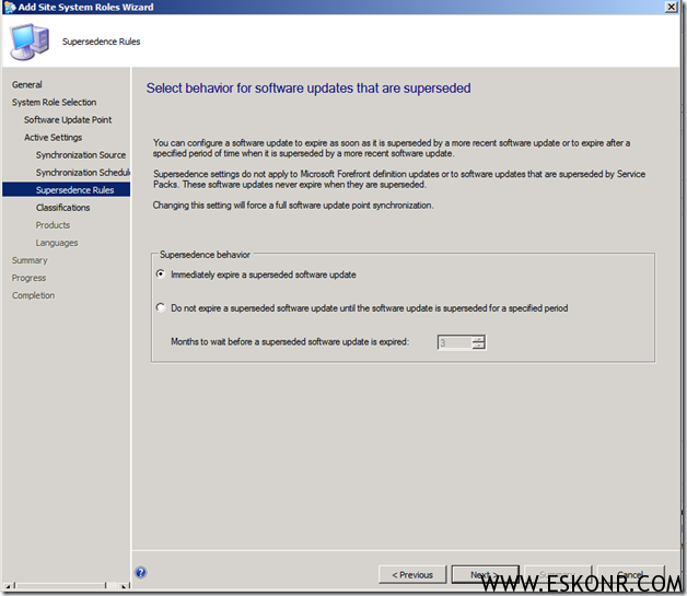 image thumb12 Installation of Software Update Role in SCCM 2012