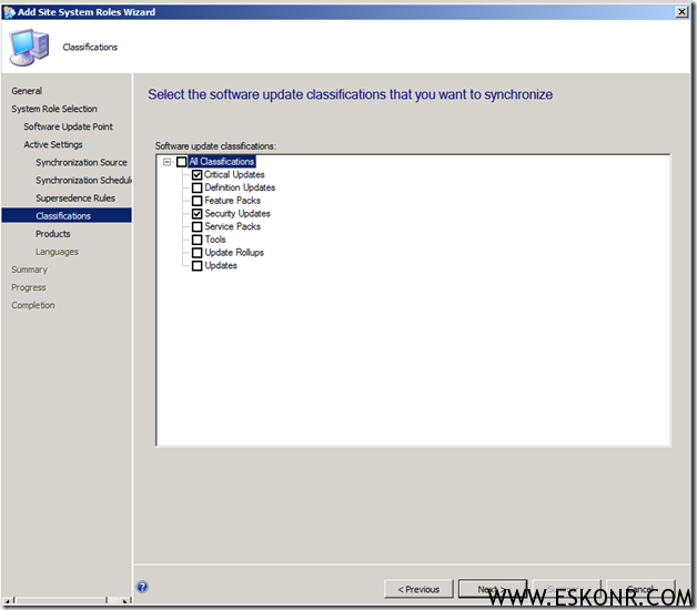 image thumb13 Installation of Software Update Role in SCCM 2012