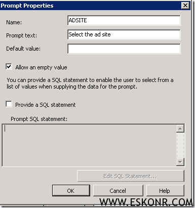 SCCM linked report Count of computers Assigned to Specific AD site