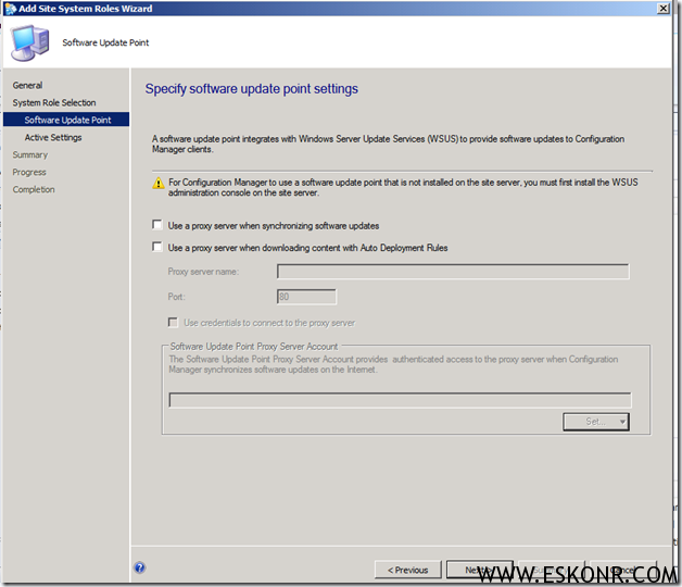 image thumb8 Installation of Software Update Role in SCCM 2012
