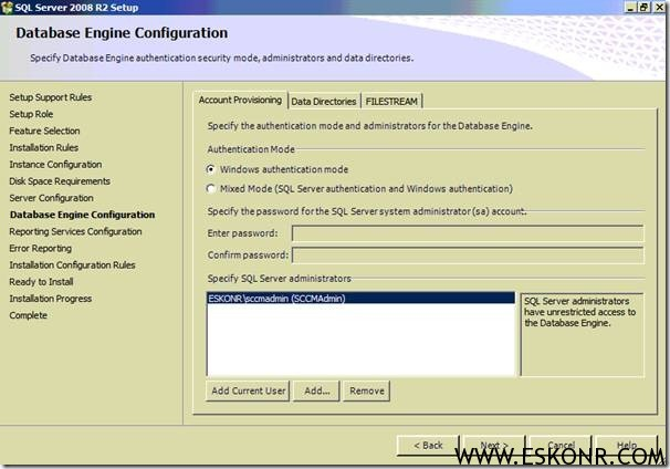 clip image00226 thumb1 How Can I Install #SCCM / #Configmgr 2012 SP1 Beta CAS + Primary Site with SLQ Server 2008 R2  Part 1