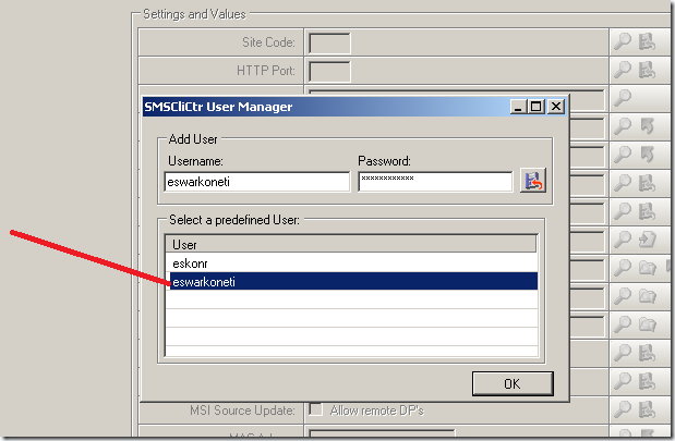 image thumb12 Run as sccm client center tool (Switch Authentication)
