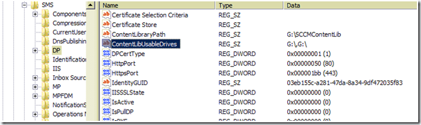 image thumb21 #SCCM / #Configmgr 2012 DP Error Failed to Create Share SCCMContentLib$ Error=2116
