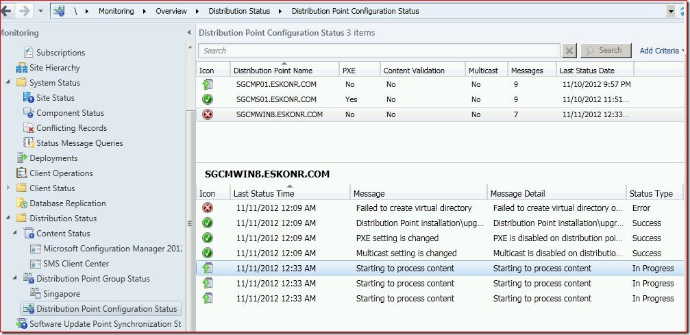 17 thumb #SCCM / #Configmgr 2012 Configure DP Role on Windows 8 workstation