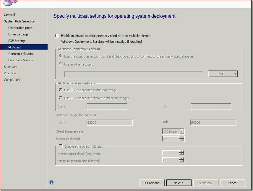 7 thumb #SCCM / #Configmgr 2012 Configure DP Role on Windows 8 workstation
