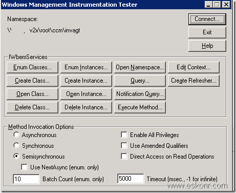 image9 thumb SCCM 2007 clients Hardware Inventory Issue Failed to process instance Error Code :80040900