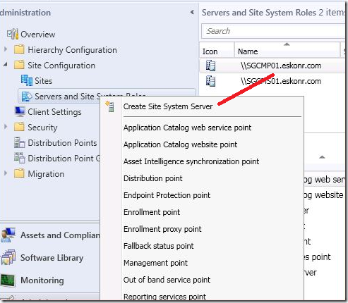 image thumb1 #SCCM / #Configmgr 2012 Configure DP Role on Windows 8 workstation