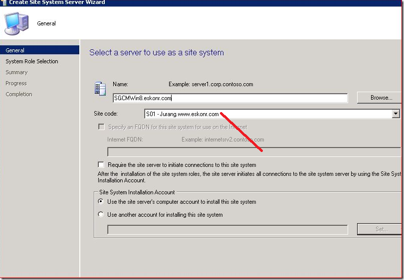 image thumb2 #SCCM / #Configmgr 2012 Configure DP Role on Windows 8 workstation