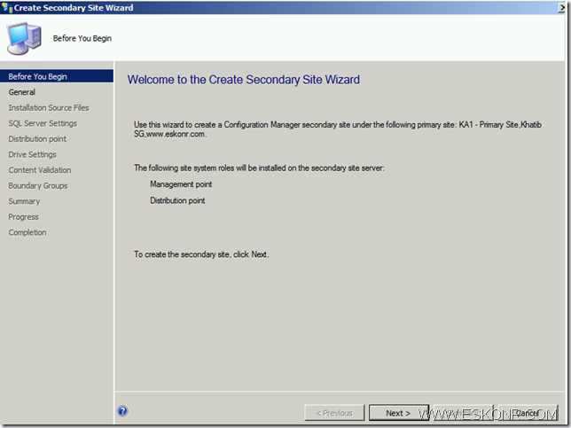 image thumb32 Install SCCM Configmgr 2012 Secondary Site step by step with prerequisites