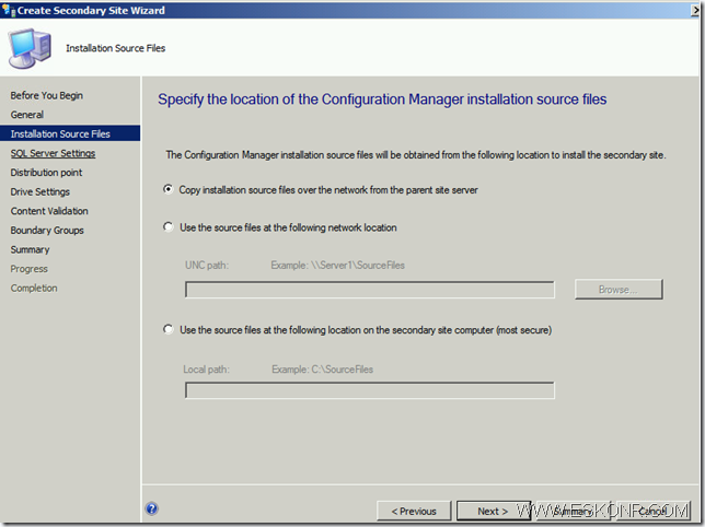 image thumb34 Install SCCM Configmgr 2012 Secondary Site step by step with prerequisites