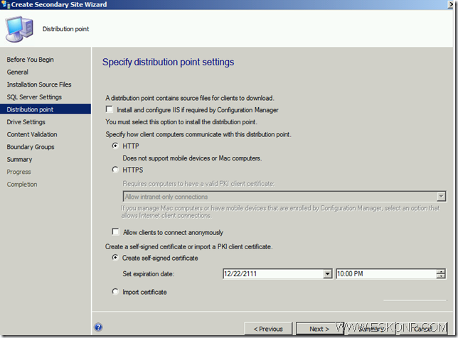 image thumb36 Install SCCM Configmgr 2012 Secondary Site step by step with prerequisites