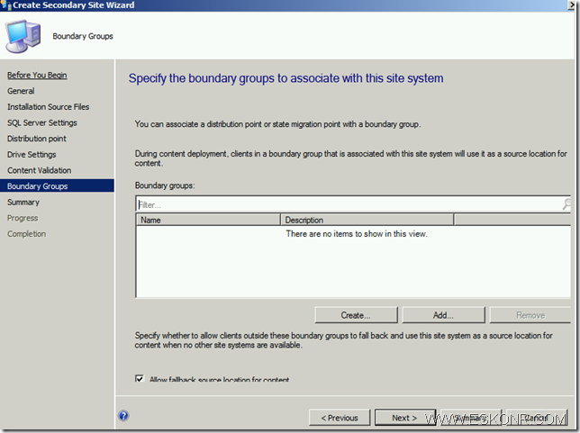 image thumb39 Install SCCM Configmgr 2012 Secondary Site step by step with prerequisites