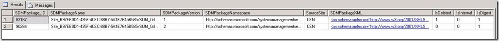 SCCM Configmgr Failed to insert SMS Package because SDM Type Content is not present in the CI_Contents table. Will try later