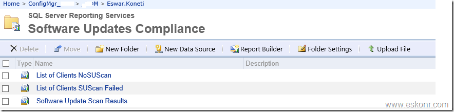 SCCM Configmgr 2012 Report Get the Status of Software Update Scan results