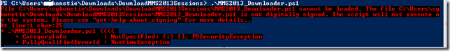 Script to Download all MMS 2013 SCCM Configmgr 2012 Sessions
