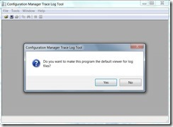 SCCM Configmgr 2012 How to make CMtrace tool as default log viewer for reading .log files for all users
