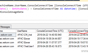 How to Monitor Configuration manager Console Usage Data