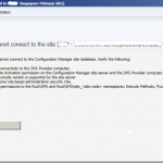 SCCM Current Branch Remote Console connectivity issues Insufficient privilege to connect, error Access is denied