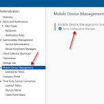 Could not enroll iOS devices to SCCM Configmgr Hybrid environment