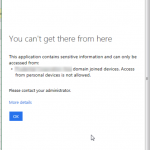 workplace join (Hybrid Azure AD Join) for windows failed with error code unknown