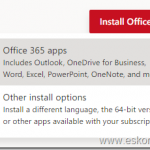 How to control Office proplus channel and which office apps are available to download from office portal