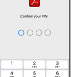 How to login to Adobe acrobat reader app with work or school account to access work files on iOS for intune