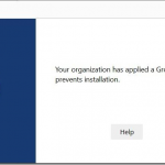 Windows information protection incompatibility with new edge chromium browser