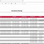 Configuration Manager report for a list of clients missing boundaries