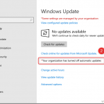 Managing windows updates using Configuration Manager and Group policy