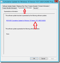 SCCM Configmgr SQL Query to check software update is superseded by what software updates