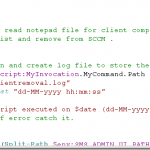 Powershell script to delete computer records from SCCM
