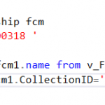 SCCM Configmgr SQL WQL query compare 2 or more collections to get the difference