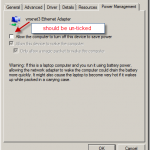 How to change Power Management settings using Configmgr Compliance settings