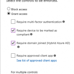 How to restrict to access to o365 from unsupported OS like Ubuntu ,CentOS using Conditional Access