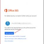 Different methods to setup Azure MFA Registration for O365