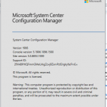 SCCM ConfigMgr Current Branch 1906 is available as in-console update