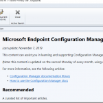 Configuration Manager update 1910 is now available as Microsoft Endpoint Configuration Manager Current Branch