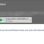 How to monitor Microsoft 365 endpoint URLs using PowerShell